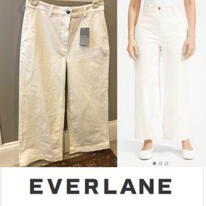 EVERLANE NWT wide leg crop pant